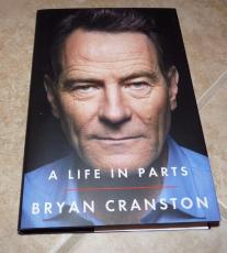 Bryan Cranston A Life In Parts Breaking Bad Signed Auto'd Book PSA Certified #1