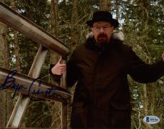 "Bryan Cranston Autographed 8"" x 10"" Breaking Bad In Woods Photograph - Beckett COA"