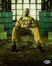 "Bryan Cranston Autographed 8"" x 10"" Breaking Bad Photograph - Beckett COA"