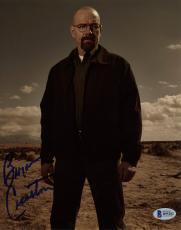 "Bryan Cranston Autographed 8"" x 10"" Breaking Bad Standing in Desert on Photograph - Beckett COA"
