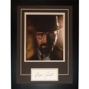 "Bryan Cranston Autographed Breaking Bad (Walter White) ""Signature Series"" Frame – JSA"