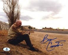 Bryan Cranston Breaking Bad Autographed Signed 8x10 Photo Beckett BAS COA