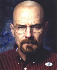Bryan Cranston Breaking Bad Autographed Signed 8x10 Photo Beckett BAS COA