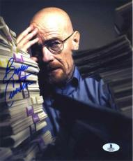 Bryan Cranston 'Breaking Bad' Autographed Signed 8x10 Photo Beckett BAS COA