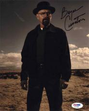 Bryan Cranston Breaking Bad Autographed Signed 8x10 Photo PSA/DNA COA