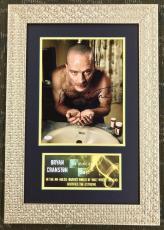 BRYAN CRANSTON- Breaking Bad signed/autographed photo custom framed display-JSA