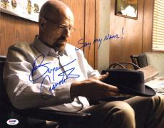 Bryan Cranston SIGNED 11x14 Photo Walter White Breaking Bad PSA/DNA AUTOGRAPHED