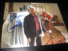 BRYAN CRANSTON SIGNED AUTOGRAPH 8x10 PHOTO BREAKING BAD PROMO ACTION SHOT COA X8