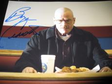 BRYAN CRANSTON SIGNED AUTOGRAPH 8x10 PHOTO BREAKING BAD PROMO FINAL EPISODE NY F