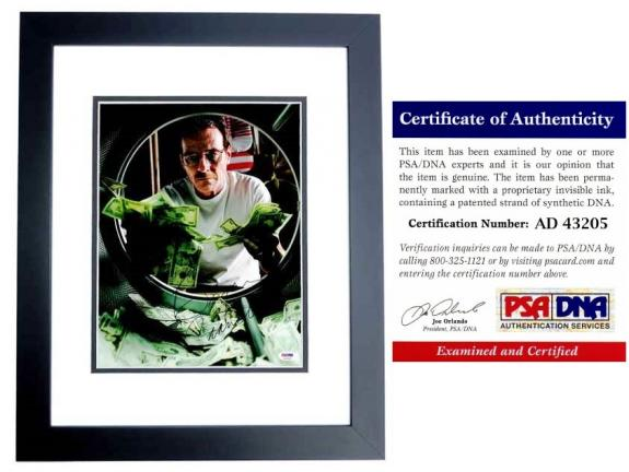 Bryan Cranston Signed - Autographed Breaking Bad - Walter White 11x14 inch Photo BLACK CUSTOM FRAME - PSA/DNA Certificate of Authenticity (COA)