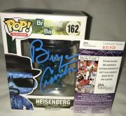 Bryan Cranston Signed   Autographed Heisenberg Breaking Bad Funko Pop Toy Doll Figurine - JSA Certified