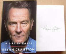 Bryan Cranston Signed Book A Life In Parts Breaking Bad Beckett BAS Authentic