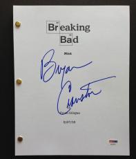 Bryan Cranston Signed Breaking Bad Pilot Episode Script Full 57 Pages Psa Coa