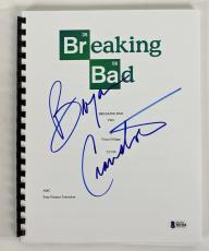 Bryan Cranston Signed Breaking Bad TV Pilot Script BAS #B51584