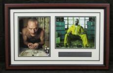 """Bryan Cranston """"Walter White"""" Breaking Bad Autographed Framed Collage PSA/DNA"""
