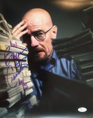 BRYAN CRANSTON (Walter White- Breaking Bad) signed 11x14 photo-JSA #R75586