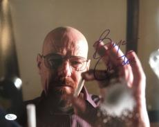 BRYAN CRANSTON (Walter White- Breaking Bad) signed 11x14 photo-JSA #R75587