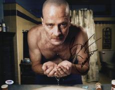Bryan Cranston Walter White Signed Breaking Bad 11x14 Photo Psa Coa X68091