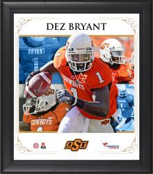 "Dez Bryant Oklahoma State Cowboys Framed 15"" x 17"" Core Composite Photograph"