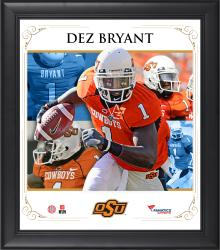 "Dez Bryant Oklahoma State Cowboys Framed 15"" x 17"" Core Composite Photograph"