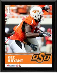 "Dez Bryant Oklahoma State Cowboys Sublimated 10.5"" x 13"" Plaque"