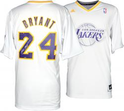 Kobe Bryant Los Angeles Lakers Autographed 2013 adidas Swingman Christmas Jersey