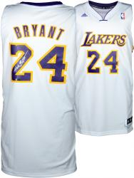 Kobe Bryant Los Angeles Lakers Autographed adidas Swingman White Jersey - - Mounted Memories