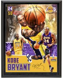 Kobe Bryant Los Angeles Lakers Sublimated 10.5'' x 13'' Player Collage Photograph Plaque - Mounted Memories