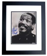 Autographed Bubba Smith Photograph - 8x10 BLACK CUSTOM FRAME Deceased