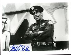 Bubba Smith Autographed Photo - Police Academy 8 X 10 Hologram