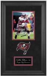 "Cadillac Williams Tampa Bay Buccaneers Deluxe Vertical 8"" x 10"" Team Logo Frame with Team Logo"