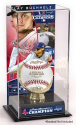 Clay Buchholz Boston Red Sox 2013 MLB World Series Champions Gold Glove with Image Display Case - Mounted Memories