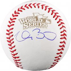 Clay Buchholz Boston Red Sox 2013 World Series Champions Autographed Baseball - Mounted Memories