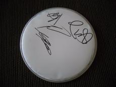 "Buckcherry Autographed Signed 10"" DRUMHEAD PSA Guaranteed #2 Josh Todd +3"