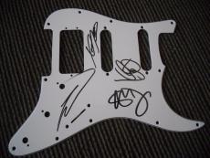 Buckcherry Band Autographed Signed Guitar Pickguard PSA Guaranteed Josh Todd +3