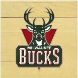 "NBA Milwaukee Bucks 12"" x 12"" Logo Floor Piece"