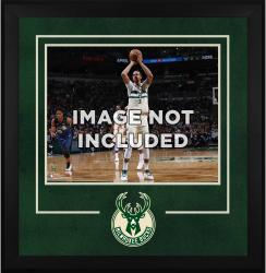 "Milwaukee Bucks Deluxe 16"" x 20"" Frame -"