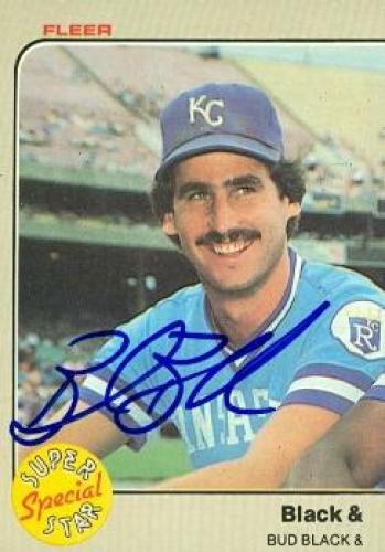 Bud Black autographed Baseball Card (Kansas City Royals) 1983 Fleer #644