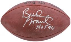 Bud Grant Minnesota Vikings Autographed Football - Mounted Memories