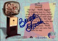 Buddy Ebsen Beverly Hillbillies Jed Signed Trading Card 1998 Inkworks #34 Id #32