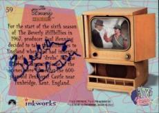 Buddy Ebsen Beverly Hillbillies Jed Signed Trading Card 1998 Inkworks #59 Id #32