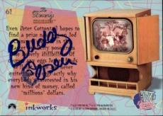 Buddy Ebsen Beverly Hillbillies Jed Signed Trading Card 1998 Inkworks #61 Id #32
