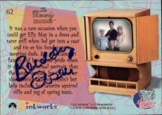 Buddy Ebsen Beverly Hillbillies Jed Signed Trading Card 1998 Inkworks #62 Id #32