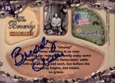 Buddy Ebsen Beverly Hillbillies Jed Signed Trading Card 1998 Inkworks #75 Id #32