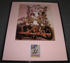 Buddy Ebsen Beverly Hillbillies Signed Framed 16x20 Photo Display JSA