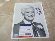 Buddy Ebsen Beverly Hillbillys Signed Autographed 8x10 Photo PSA Certified