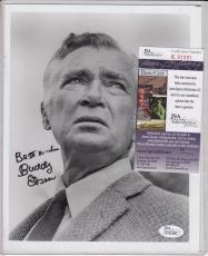 Buddy Ebsen Signed Autograph Auto 8x10 Jsa Certified Authentic