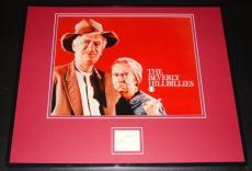 Buddy Ebsen Signed Framed 16x20 Photo Display Beverly Hillbillies B