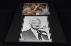 Buddy Ebsen Signed Framed 16x20 Photo Set JSA Barnaby Jones
