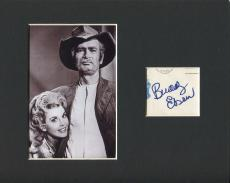 Buddy Ebsen The Beverly Hillbillies Signed Autograph Photo Display w/ Elly May